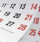 """Calendarización Septiembre """"Mes De La Chilenidad"""""""