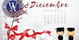 Calendario Mes de Diciembre