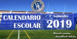 Calendario I° Semestre 2019
