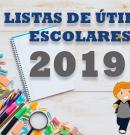 Lista de Útiles Escolares 2019