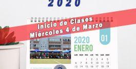 Calendario I° Semestre 2020