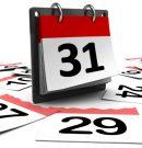 Calendario Mayo- Junio 2020